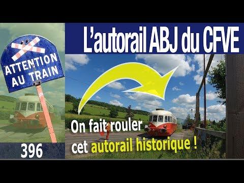 L'autorail ABJ 4 du Chemin de Fer de la Vallée de l'Eure