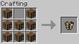 Minecraft UHC but you can craft ARMOR out of ANY block...