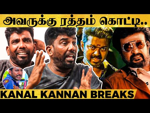 Clash with Rajini, Vijay's Stunt Skills, Injuries for Actors on Set - Kanal Kannan's Shocking Story from YouTube · Duration:  23 minutes 6 seconds