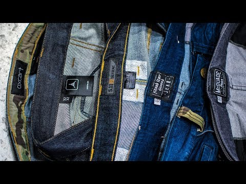 Tactical Jeans Showdown (5 Pairs) - TD McQuade, TD SYG, 5.11, TAD, Oxcart