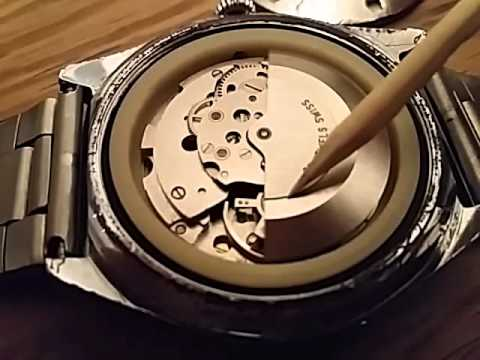LANCO 25 jewels automatic incabloc AS 2063 movement