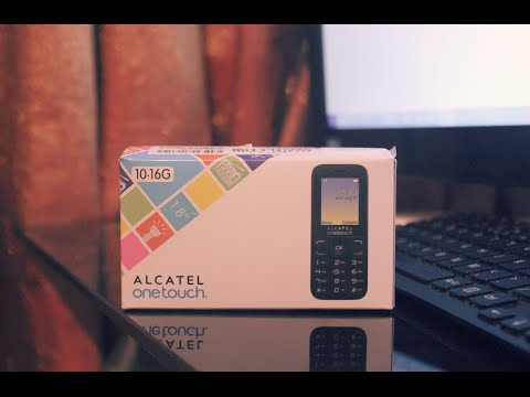 Alcatel OneTouch 1016G  UNBOXING & REVIEW!