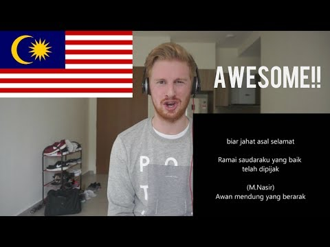 (AWESOME!!) Mantera Beradu - Malique feat M Nasir // MALAYSIAN RAP REACTION