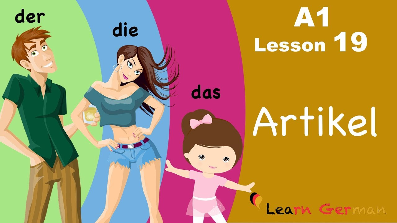 Learn German | Articles | bestimmte Artikel | der, die, das | German for beginners | A1 - Lesson 19