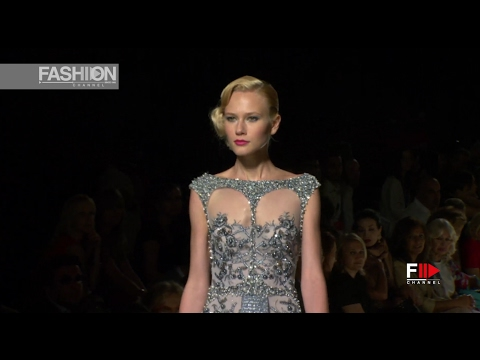 TONY WARD Haute Couture Autumn Winter 2011 2012 Paris   Fashion Channel