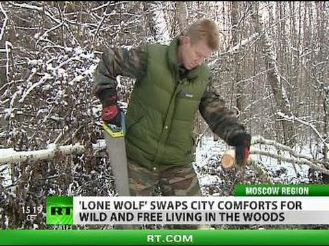 Born to be Wild: 'Lone wolf' escapes city to live free in forest, keep blog