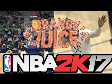NBA 2K17 - How To Use Orange & How To Activate Orange Juice
