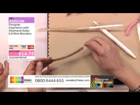 Learn How to Make Viking Knit Jewellery with Stephanie Eddy [Tutorial]: Jewellery Maker DI 27/08/14