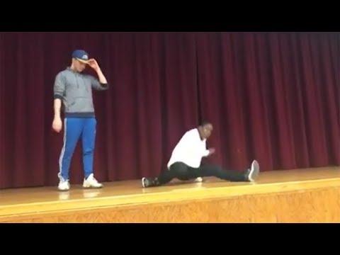 Student, teacher battle it out in epic talent  danceoff