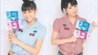 """Wada Ayaka y Fukuda Kanon en estación de radio """" RKB """", programa """" ..."""