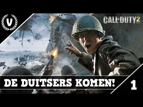 DE DUITSERS KOMEN! - Call of Duty 2 - Aflevering 1