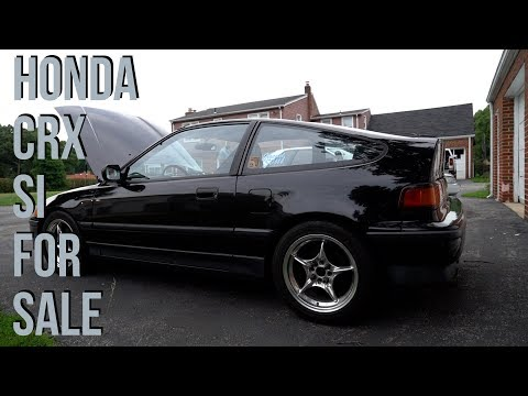 SUPER CLEAN 1988 Honda Crx SI *FOR SALE*