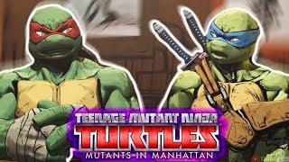 ЛУЧШАЯ ИГРА ПРО ЧЕРЕПАХ! [TMNT - Mutants in Manhattan] - Прохождение #1   Черепашки Ниндзя 2018