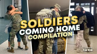 Soldiers Coming Home Surprises! Thank You for Your Service!