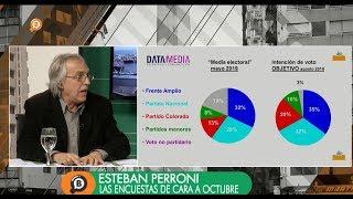 """Esteban Perroni: """"La mayoría de los jóvenes no vota a Talvi"""""""