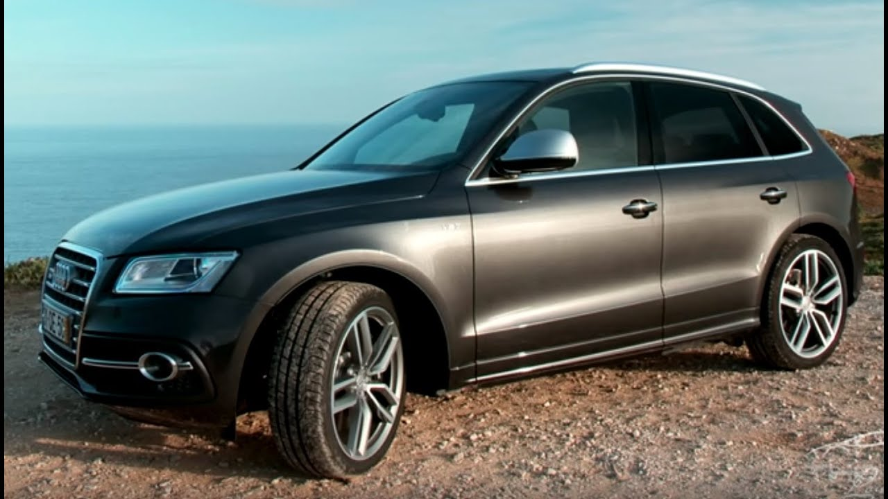 review audi sq5 3 0 v6 tdi 2015 with great exhaust sound. Black Bedroom Furniture Sets. Home Design Ideas