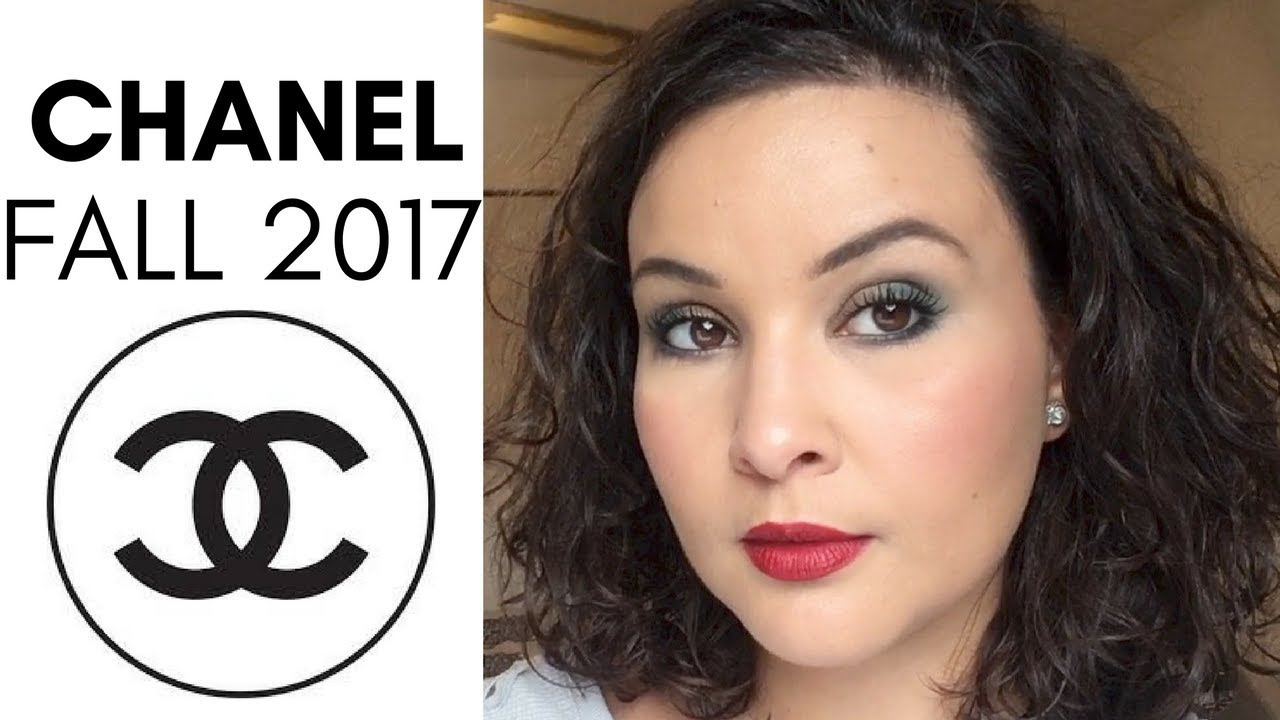 Chanel fall winter 2017 makeup tutorial and review youtube chanel fall winter 2017 makeup tutorial and review baditri Images