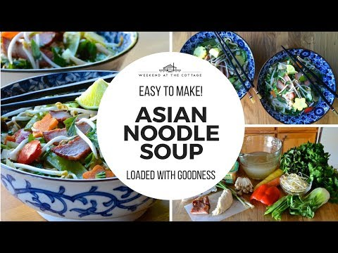 The BEST ASIAN NOODLE SOUP recipe! | Phở