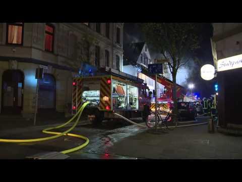 Flammenhölle in Bremerhaven: Bewohner springen aus Angst aus den Fenstern
