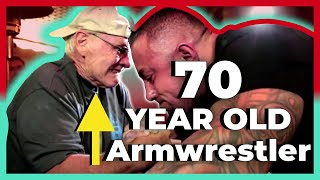 70-летний армрестлер !!! Спортивное долголетие!