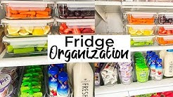 Fridge Organization 🌟 Refrigerator Clean and Organize with me