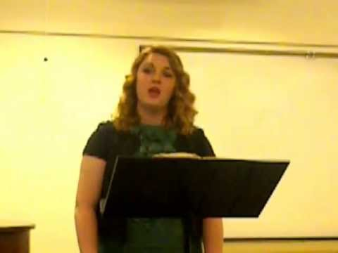 """Olivia Robinson singing 'The Singer"""" Cover"""