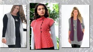 Модели вязания жилетов (crochet)