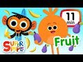 The Super Simple Show - Fruits & Vegetables | Kids Songs & Cartoons