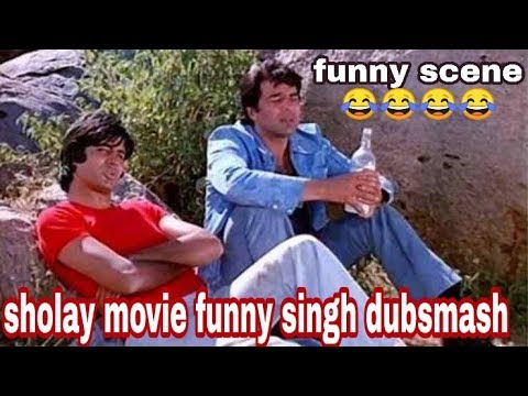 Shole Movie || Gabbar Is Back || FTC Style || indian movie dubsmash ||