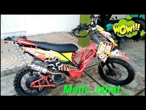Matic Trail Mania..  Yamaha X Ride..