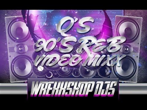 Q's 90's R&B VIDEO MIXX - WREXXSHOP