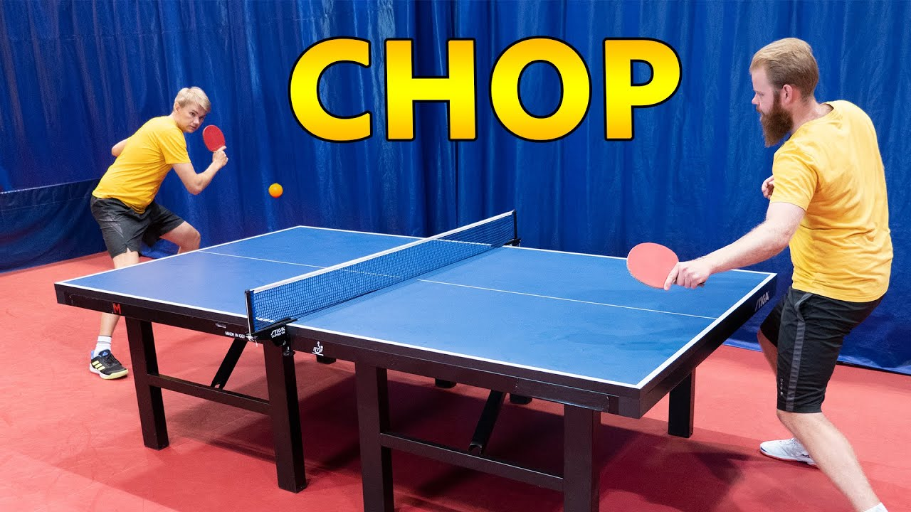 [1 Year Challenge] Table Tennis Chopper