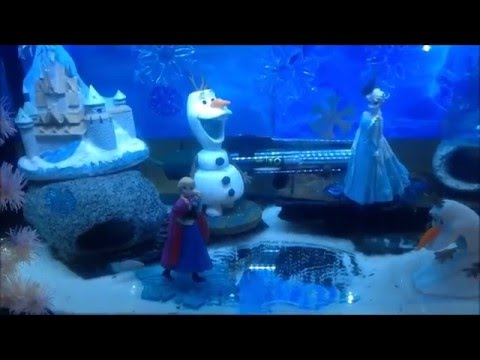 Disney frozen fish tank theme youtube for Youtube fish tank