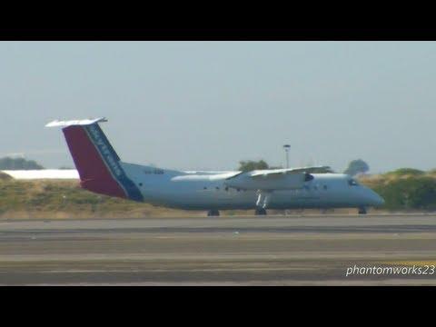 SKYTRANS DHC-8-311 TAKE OFF 34R SYDNEY AIRPORT