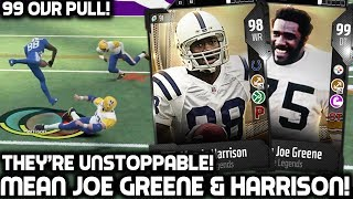 MEAN JOE GREENE & MARVIN HARRISON ARE UNSTOPPABLE! Madden 18 Ultimate Team