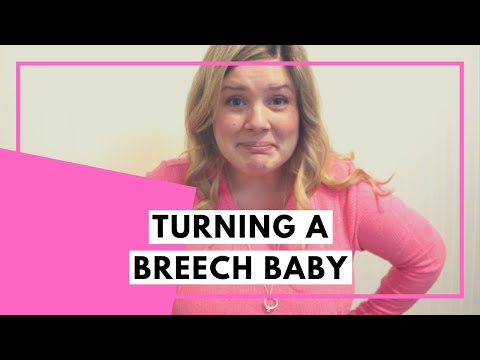 How to turn a breech or transverse baby