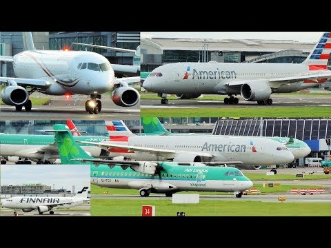 Dublin Airport Plane Spotting 2017