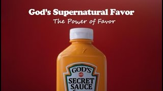 Unlock the Power of Favor - Pastor Terry Linscott