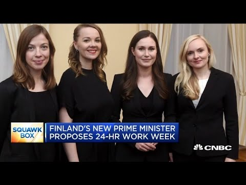 Finland's new prime minister proposes a 24-hour work week