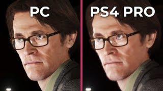 Beyond Two Souls – PC vs. PS4 Pro 4K Graphics Comparison