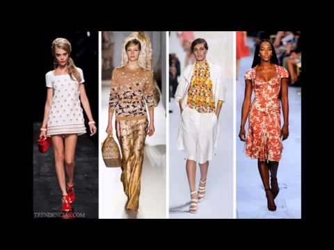Spring Summer 2016 Fashion Trends