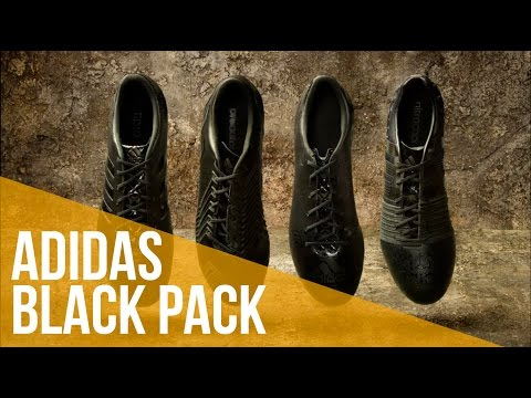 Review adidas black pack