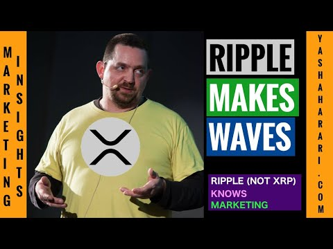 Ripple Knows Marketing - Marketer Clarifies