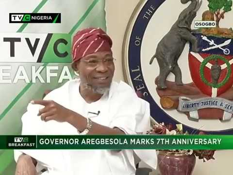 TVC Breakfast with Governor of Osun State, Ogbeni Rauf Aregbesola on 7th Anniversary - Part 1