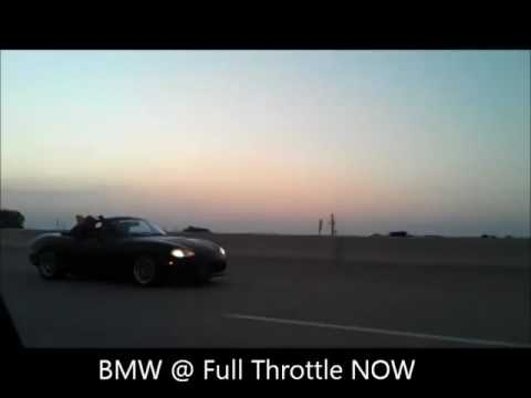 76mm Turbo LS1 Miata vs. 88' BMW 325i (Initial D)