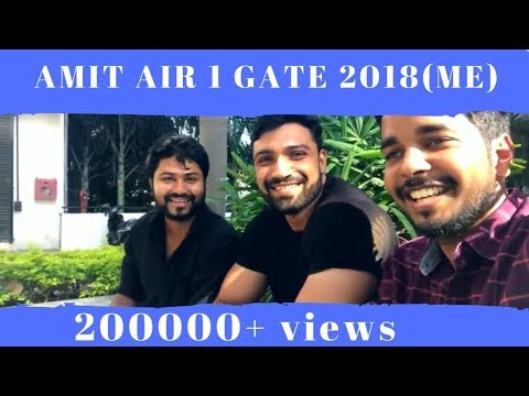 GATE Topper 2018 (ME) || AIR 1 ||  Amit kumar full exclusive interview