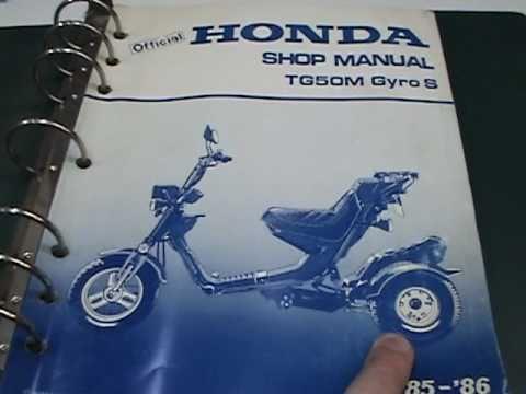 secret gyro hidden transmission drain youtube rh youtube com Honda Service Manual PDF Honda Motorcycle Service Manual PDF