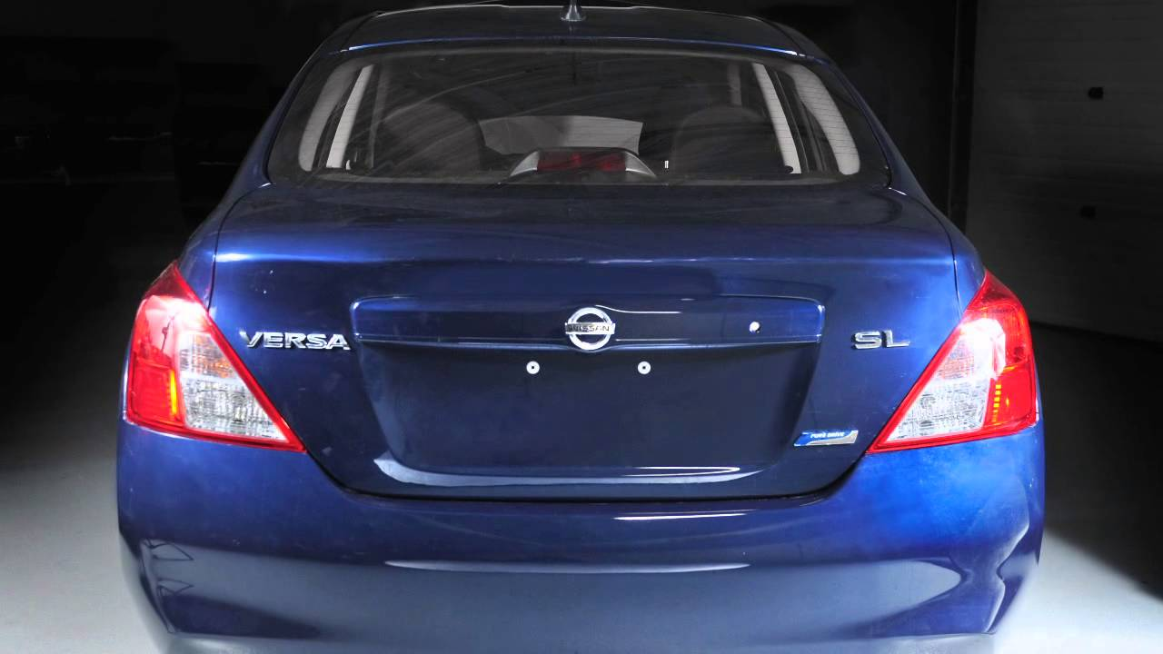 2013 Nissan Versa Sedan Trunk Release Youtube