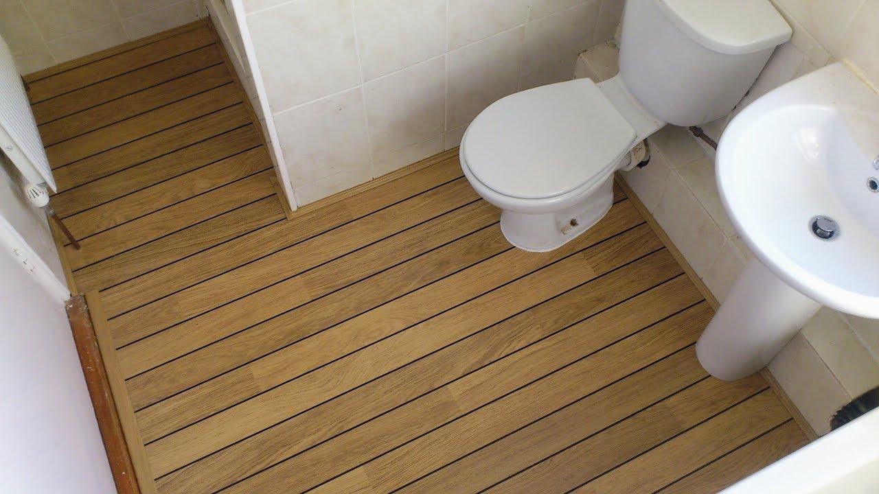 QuickStep Lagune UR NATURAL VARNISHED OAK SHIPDECK YouTube - Quick step lagune bathroom laminate flooring