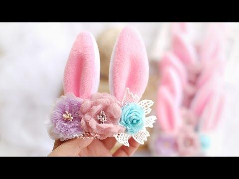 Bunny Ears Headband Craft - How To Make Rabbit Ears